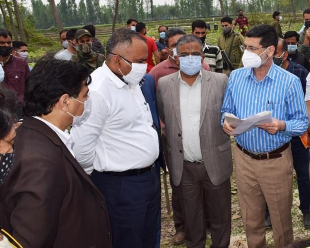 Covid hospital at Budgam can be turned into full-fledged hospital once Covid dies down: Div Com