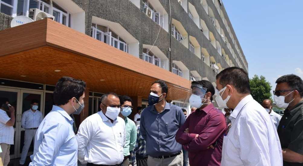 Div Com reviews preparations for Darbar Move opening