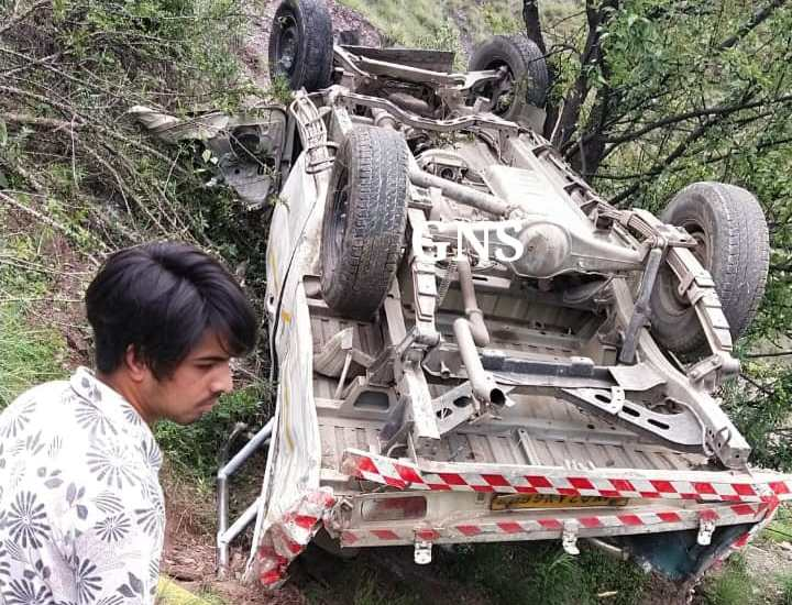 Minor boy killed, three injured in Poonch road accident