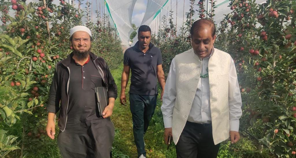 DG Horticulture Kashmir conducts extensive tour of south Kashmir