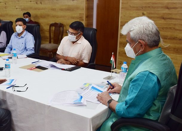 LG calls for removal of bottlenecks, expediting pace of works, synergizing inter-agency coordination