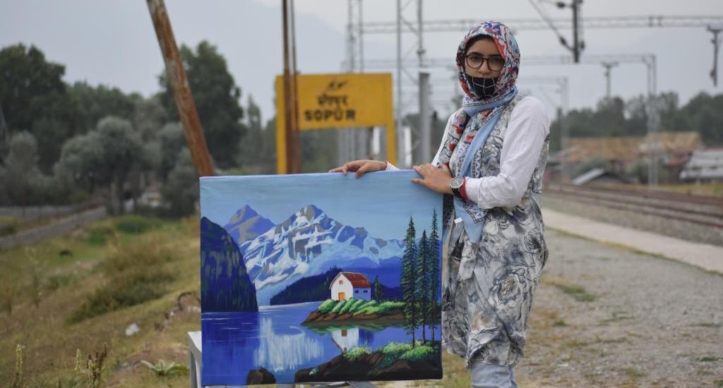 Meet Taskeen-un-Nisa: Multi-talented, self-taught artist from Sopore