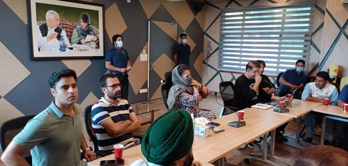 Mehbooba bats for self-rule formula for resolution of Kashmir issue