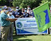 Sarmad Hafeez flags off sanitation drive along Great Lakes Trek