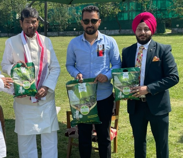 'Future is Organic': Union Minister of FPI launches NAFED organic manure in J&K