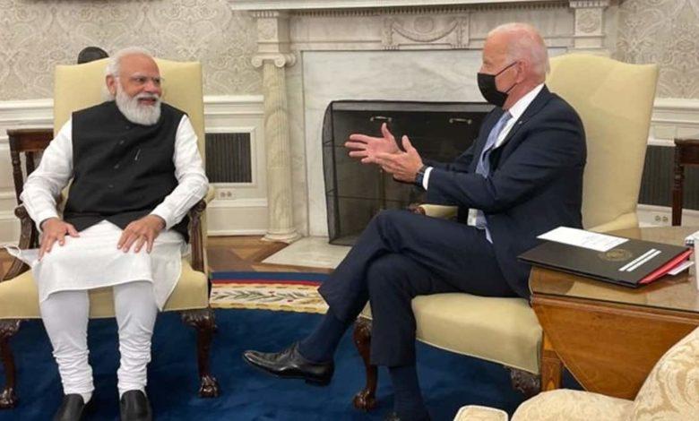 Modi-Biden discuss Indo-Pacific, climate and COVID