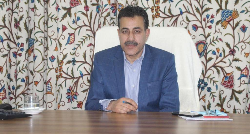 Prof. Farooq Shah takes over as in-charge VC CUK