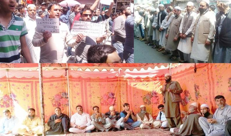 JK Salvation movement held protest against civilian killings