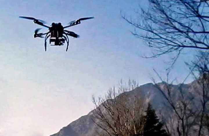 Camera fitted drone hovering on district jail seized by Kishtwar police