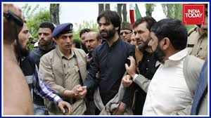 JKLF protests against civilian killing