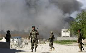 Taliban attacks Afghan base, kills 30 policemen