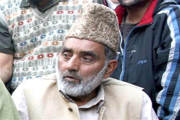 'Yes I take pension from the government for being a former legislator': Hurriyat (G) leader, GN Sumji
