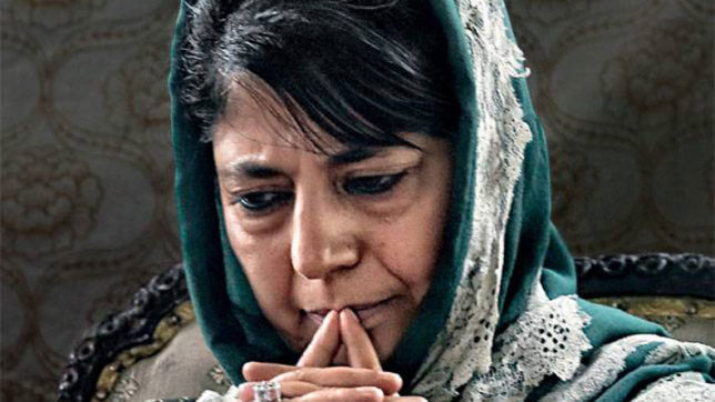 Police has issued advisory not to let political parties any meeting in hotels: Mehbooba