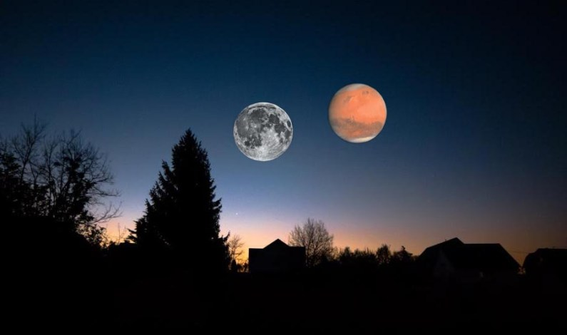 A cosmic event that only happens every 35,000 years: July 27, 2018, planet Mars will be as big as  Moon