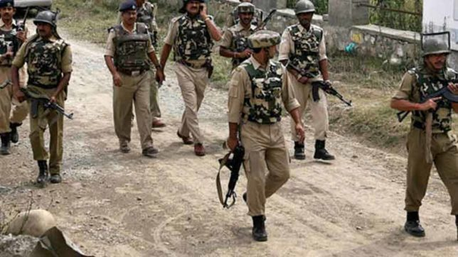 Militant hideout busted in Bandipora forests, arms and ammunition recovered