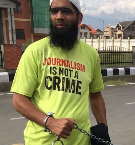 Asif Sultan among 10 'Most Urgent' cases of threats to Press Freedom around the world: One Free Press Coalition
