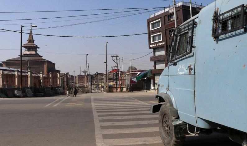 Kashmir: Curfew-like restrictions imposed in Downtown Srinagar, Jamia Masjid closed