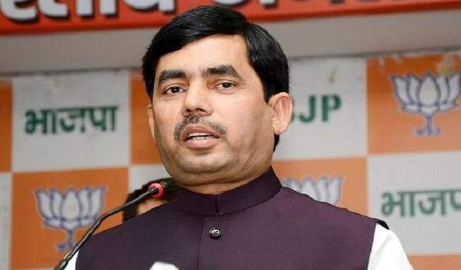 BJP's Shahnawaz Hussain lashes out at Omar, Mehbooba during Anantnag convention