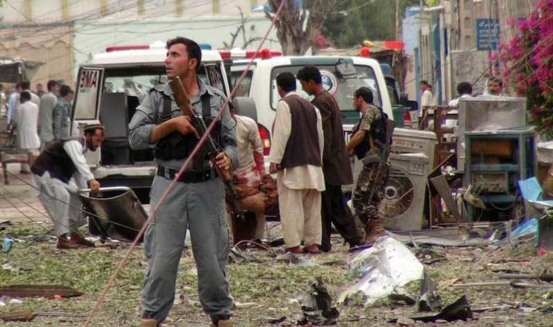 Attack at Afghan VP candidate's office kills 20, says official