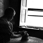 Kashmir pottery 6 - mud art - kashmir