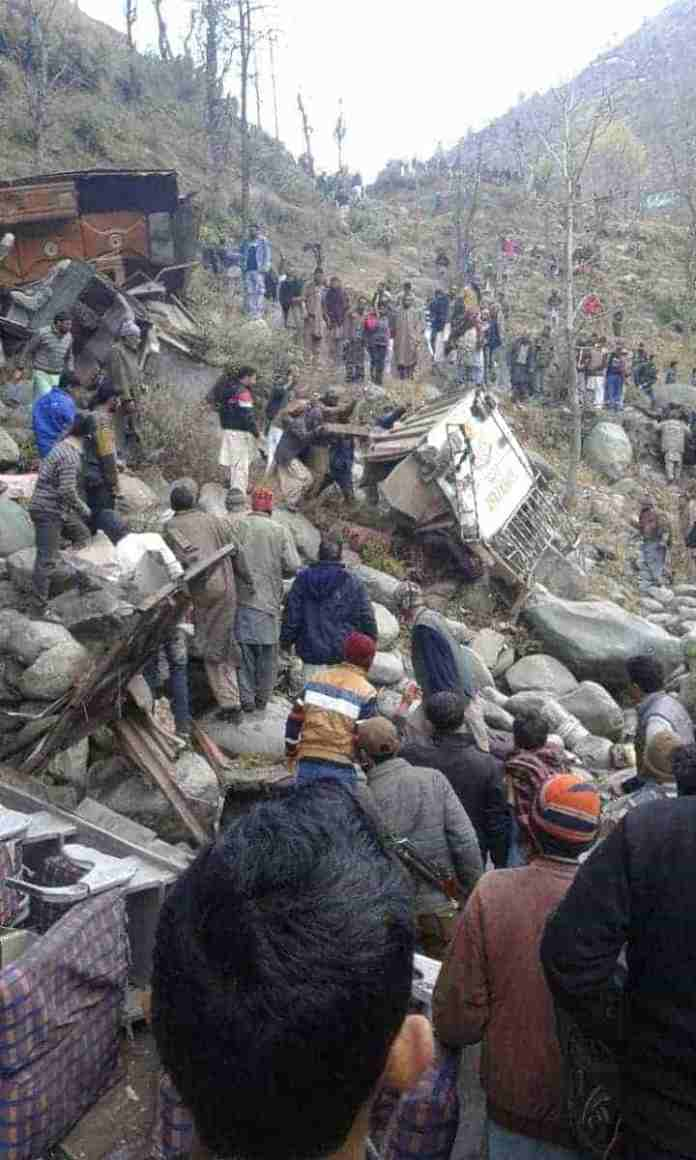 poonch accident, 20 dead, kashmir, jammu and kashmir