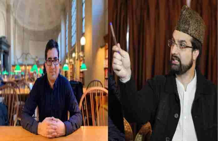 Kashmir, kashmir news, shah faesal, miwaiz umar farooq