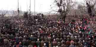 kashmir, kashmiri militants, militant funeral,