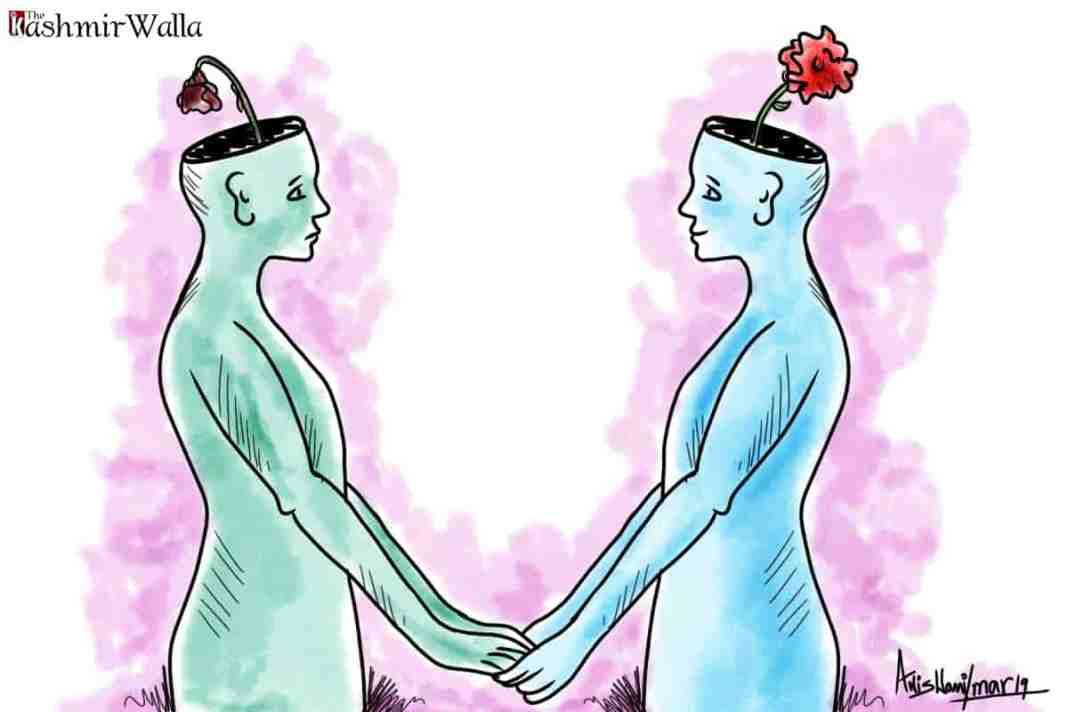 Peace, mental peace, peace in kashmir, kashmir peace, peace psychologist, Ufra Mir, Ufra mir peace