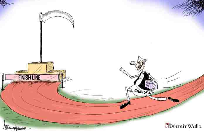 Kashmir, kashmir news, kashmir cartoon,