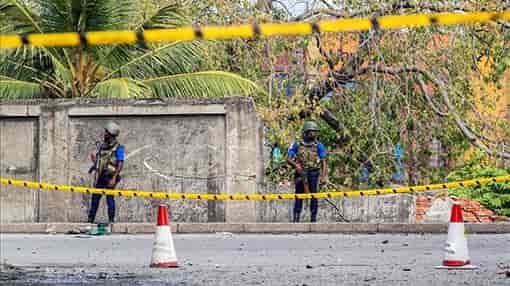sri lanaka attack, arrested, tamil medium teacher, police