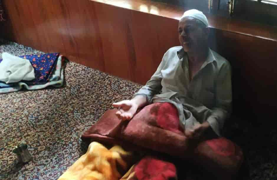 Father of civilian arrested in Nasrullahpora