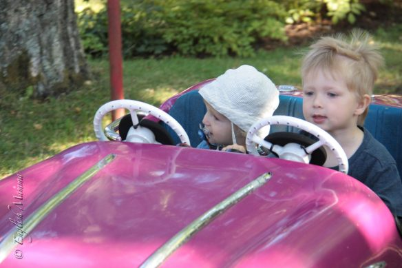 An English Mamma in Stockholm: brothers toddlers model toy car skansen