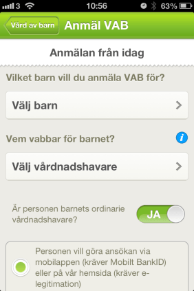 An English Mamma in Stockholm: how to Vab forsakringskassan app anmalan choices