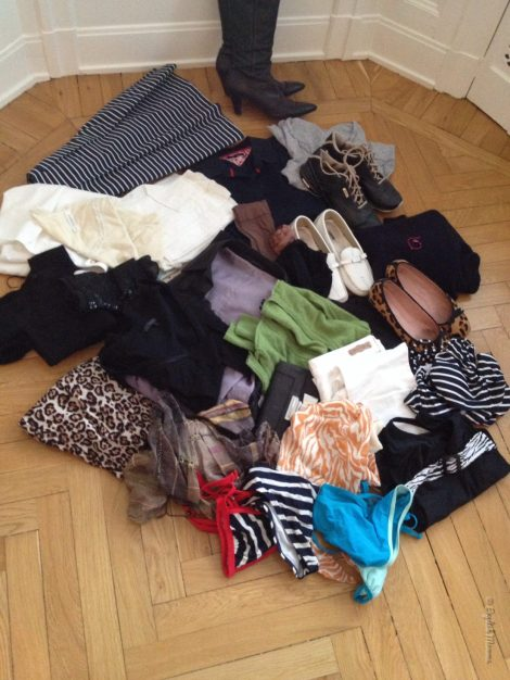An English Mamma in Stockholm: throw out 100 things challenge clothes second batch