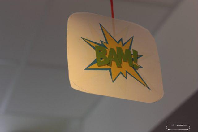 An English Mamma in Stockholm: superhero hanging decorations bam