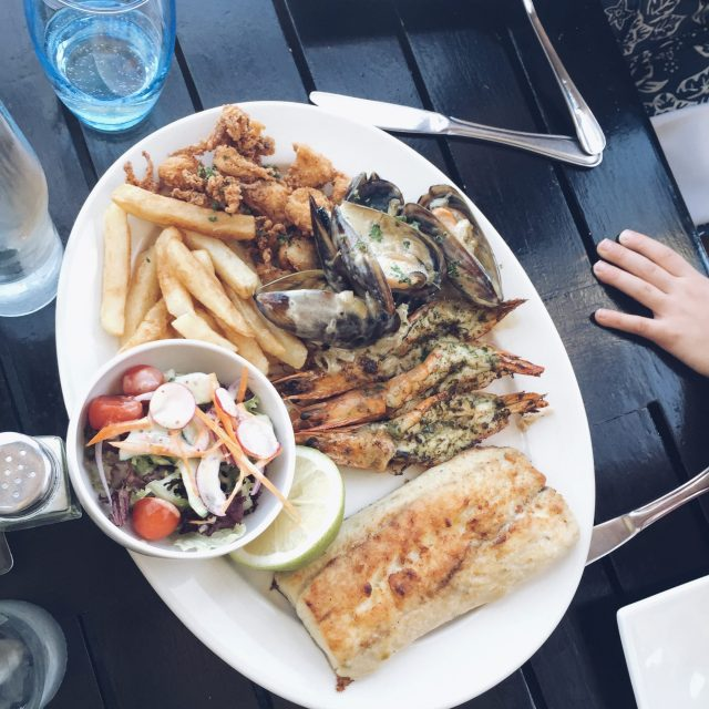 The Kat Edit: south africa with children seafood platter hermanus