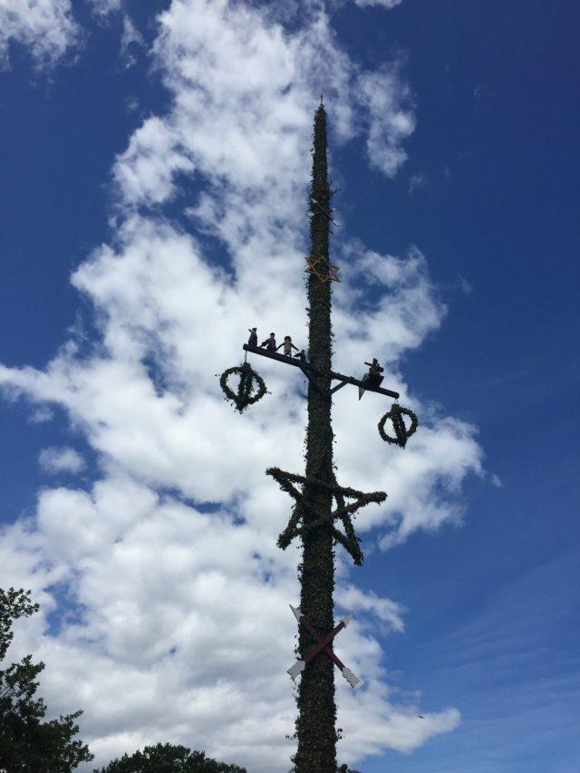 The Kat Edit: midsummer midsommar stång maypole skansen