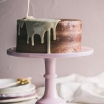 Moerkoffie Cake With Condensed Milk Drip The Kate Tin