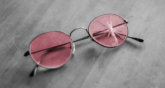 Image result for rose colored glasses photo