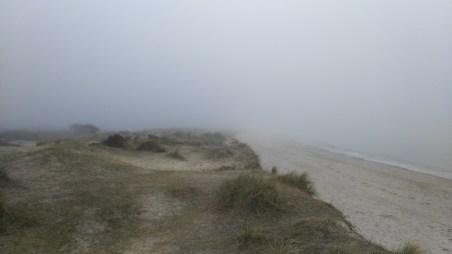 I said it was foggy