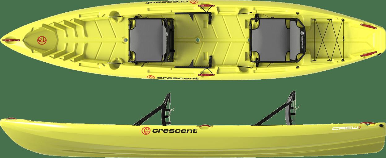 Crescent Crew Tandem - Citron