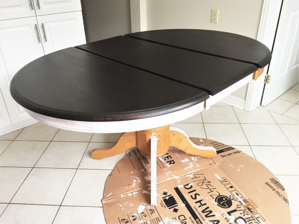 kitchen table refinishing