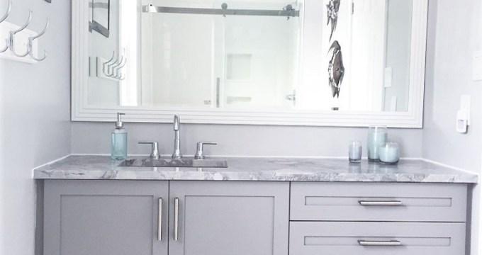 Boy's Bathroom Renovation-The Reveal