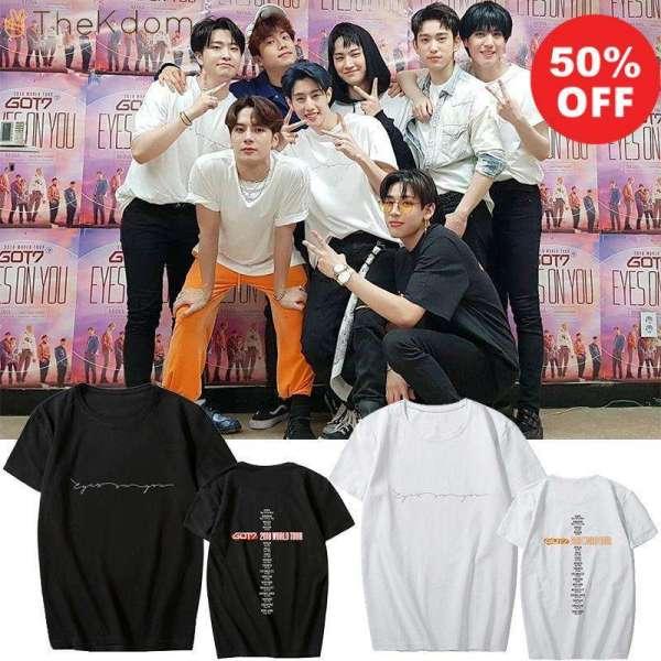 T-Shirts GOT7 World Tour 2018 T-Shirt - The Kdom