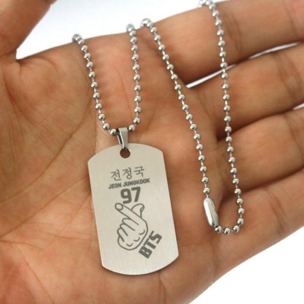 Pendant Necklaces Bangtan Boys Stainless Steel New Necklace - The Kdom