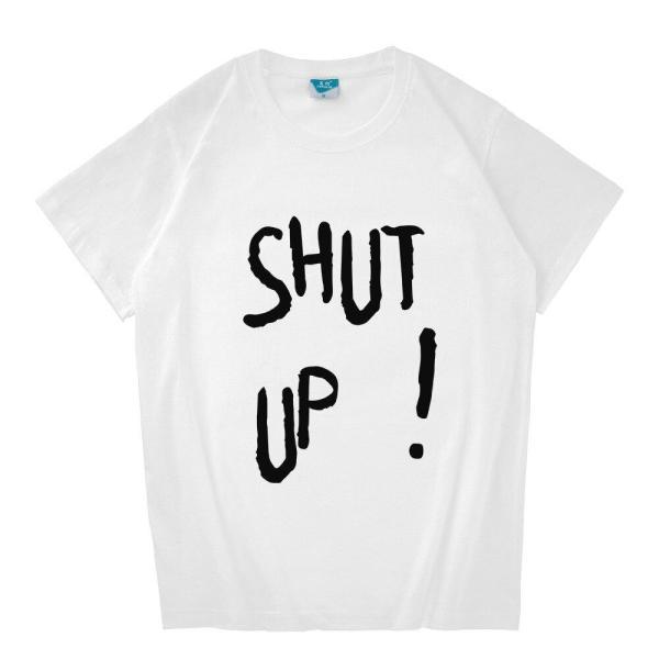 "T-Shirts Bangtan Boys V ""Shut Up"" Cotton T-Shirt - The Kdom"