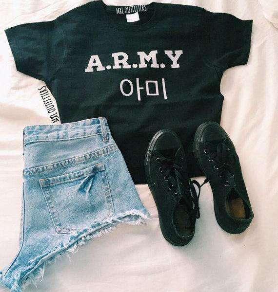 T-Shirts A.R.M.Y BTS T-Shirt - The Kdom
