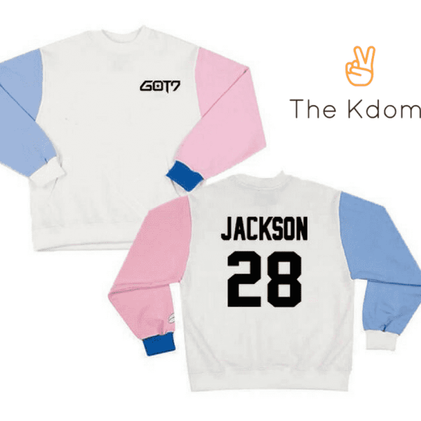 Sweaters GOT7 Member Name Sweatshirt (LIMITED EDITION) - The Kdom
