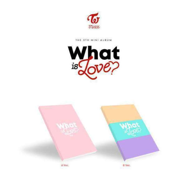 Other Music Memorabilia TWICE THE 5TH MINI ALBUM WHAT IS LOVE? - Version Choice - The Kdom