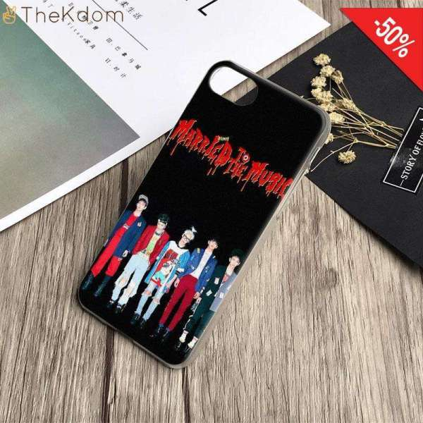 Half-wrapped Case SHINee Phone Case For iPhone All Models - The Kdom